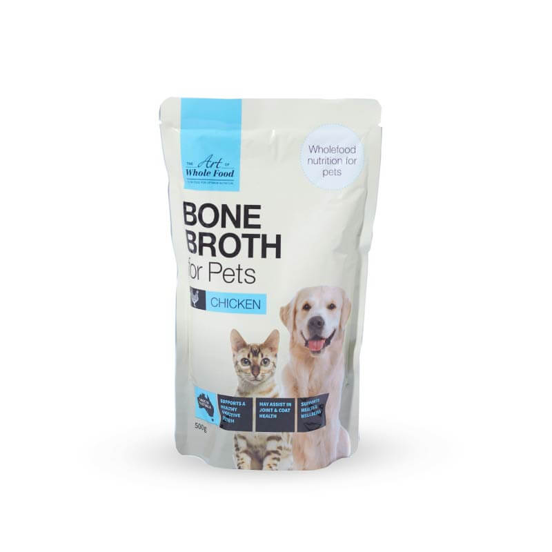 The Art of Whole Food Bone Broth | Chicken - Shop Vanillapup Online Pet Shop