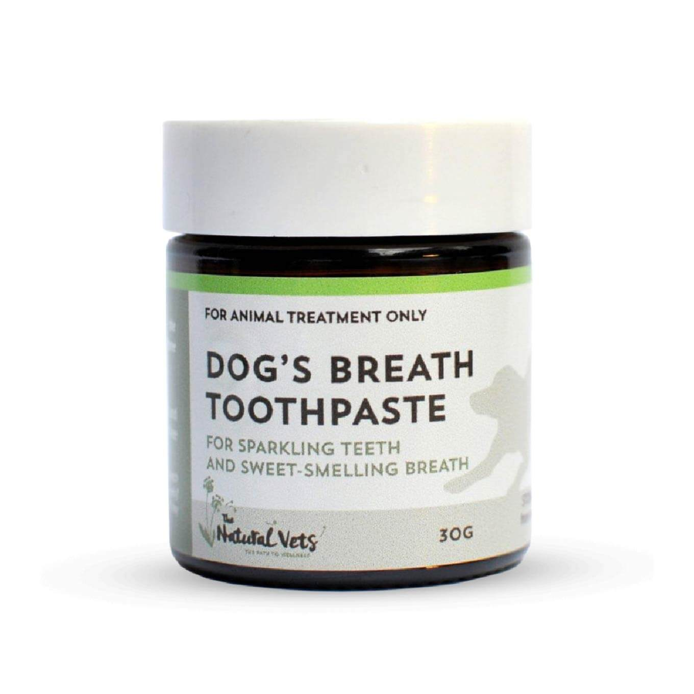 The Natural Vets Dog's Breath Toothpaste (30g) - Vanillapup Online Pet Store