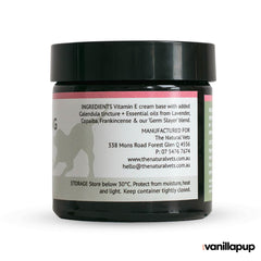 The Natural Vets Skin Soothing Cream (50g) - Dogs, Grooming Essentials, Hot Spots, Skin, The Natural Vets - Shop Vanillapup - Online Pet Shop