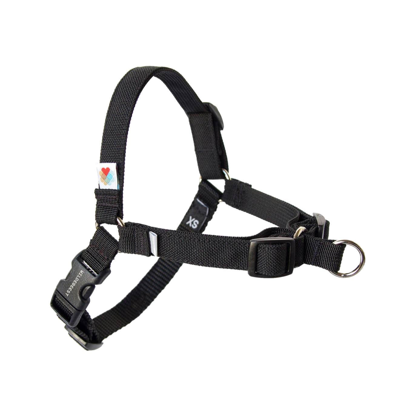 Wildebeest Linden No Pull Harness | Black - Dogs, Harnesses, Walking, Wildebeest - Shop Vanillapup - Online Pet Shop