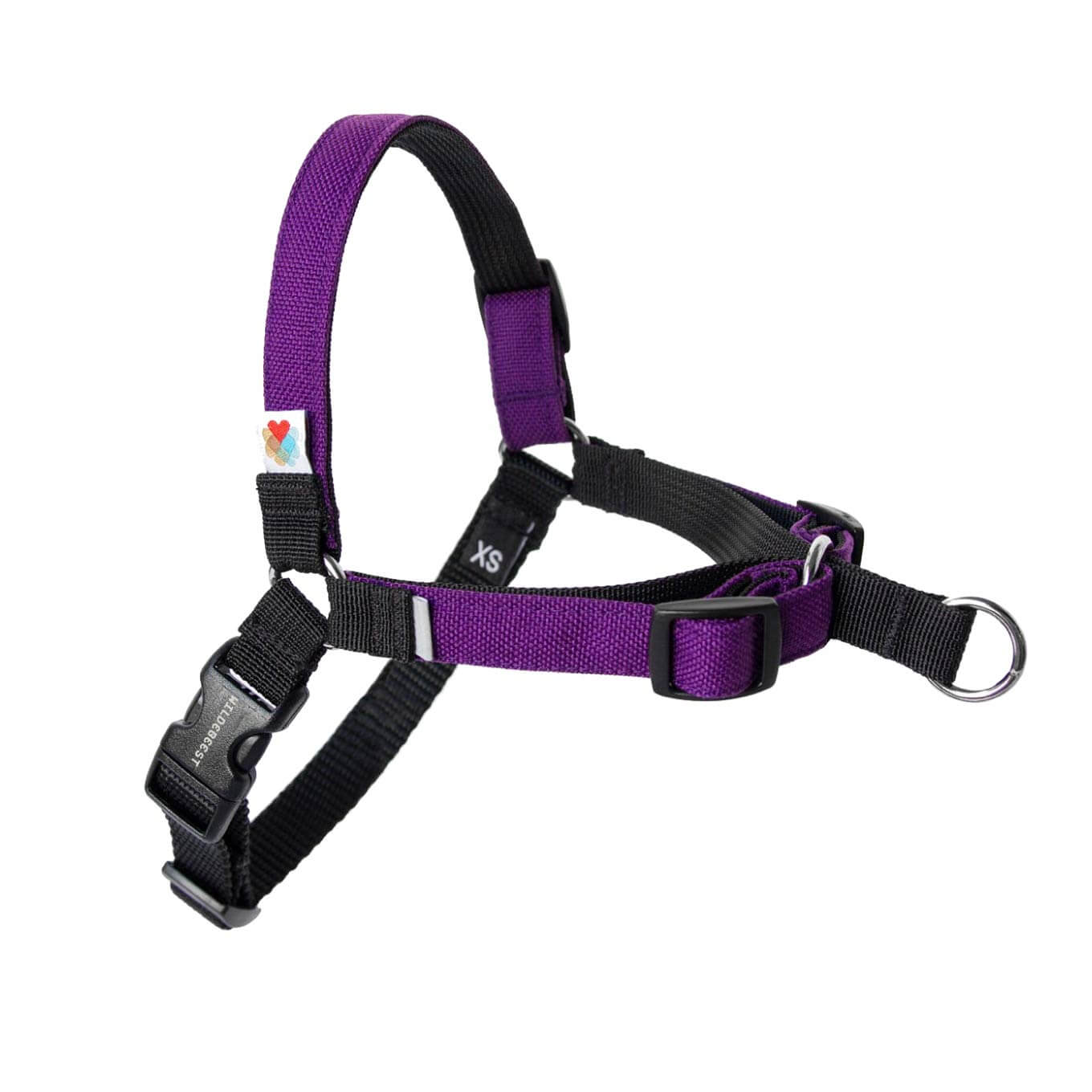 Wildebeest Linden No Pull Harness | Purple - Shop Vanillapup Online Pet Shop
