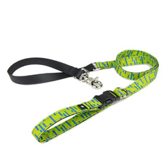 Wildebeest Pacifica Quick Clip Leash | Lime - Vanillapup Online Pet Store