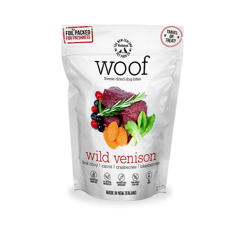 WOOF Wild Venison Freeze-dried Dog Treats