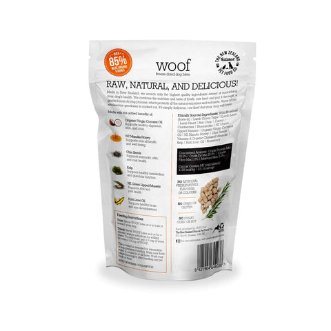 WOOF Wild Brushtail Freeze-dried Dog Treats