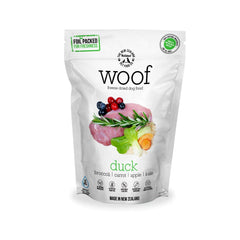 [Bundle Deal] WOOF Duck Freeze-dried Dog Food | 320g/1kg - Dogs, Food, WOOF, WOOFXMAS - Vanillapup - Online Pet Shop