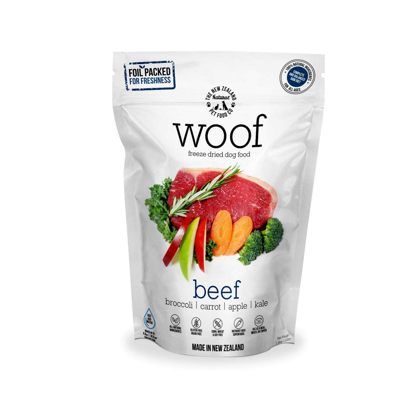 WOOF Beef Freeze-dried Dog Food