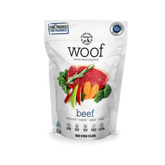 [Bundle Deal] WOOF Beef Freeze-dried Dog Food | 280g/1.2kg - Shop Vanillapup Online Pet Shop