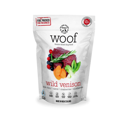 WOOF Wild Venison Freeze-dried Dog Food