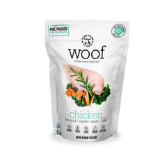[Bundle Deal] WOOF Chicken Freeze-dried Dog Food | 320g/1.2kg - Shop Vanillapup Online Pet Shop
