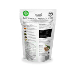 WOOF Duck Freeze-dried Dog Food