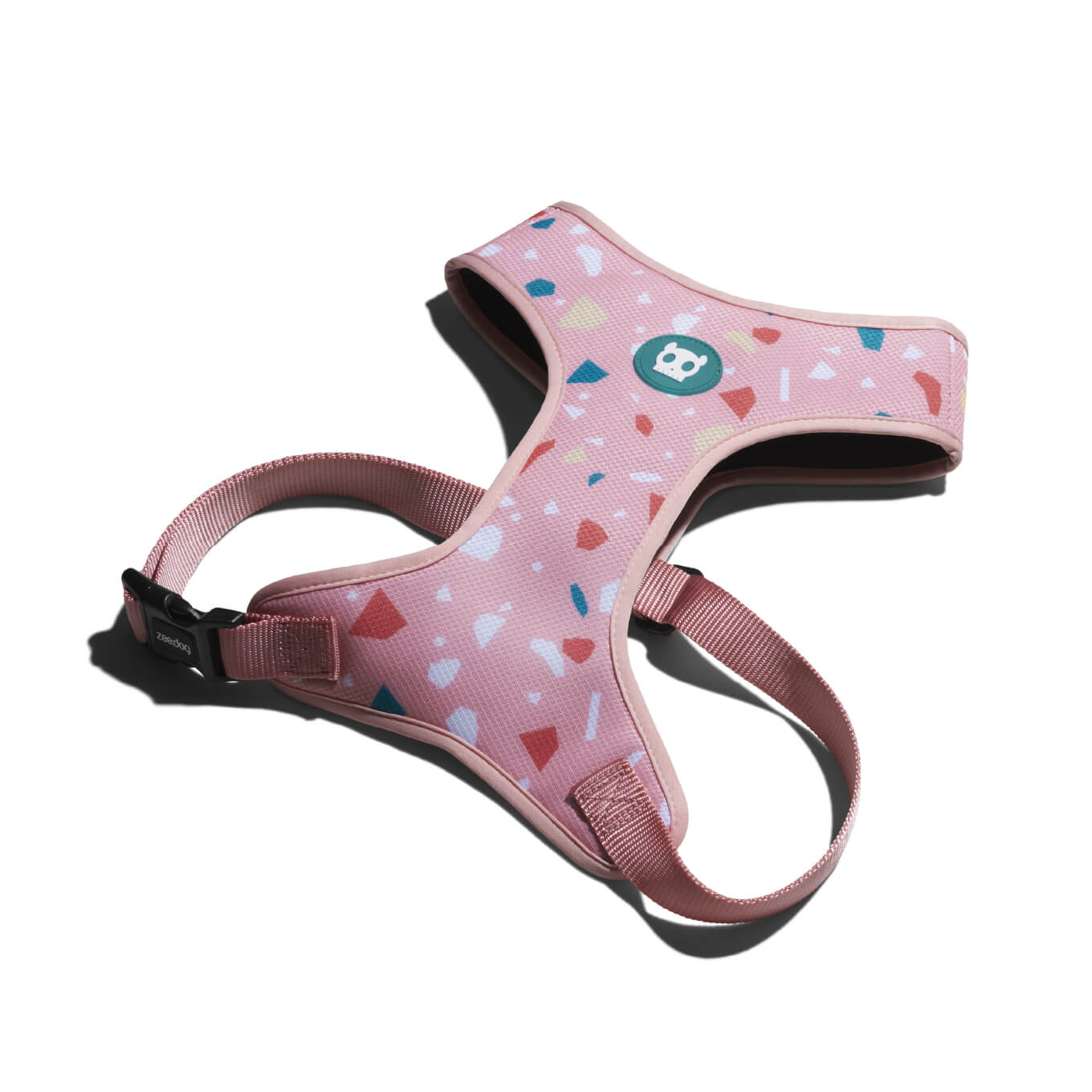 Zee.Dog Terrazzo Rose Air Mesh Harness - Vanillapup Online Pet Store
