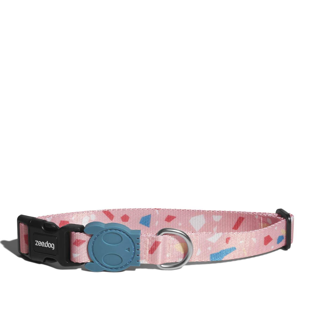 Zee.Dog Terrazzo Rose Dog Collar - 20, Collars, Dogs, Walking, Zee.Dog - Vanillapup - Online Pet Shop