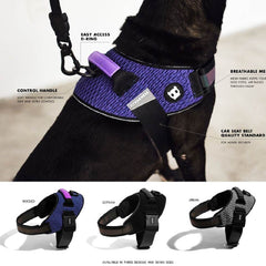 Zee.Dog Fly Harness | Gotham