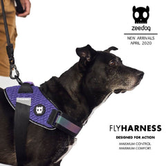 Zee.Dog Fly Harness | Gotham - Vanillapup Online Pet Shop