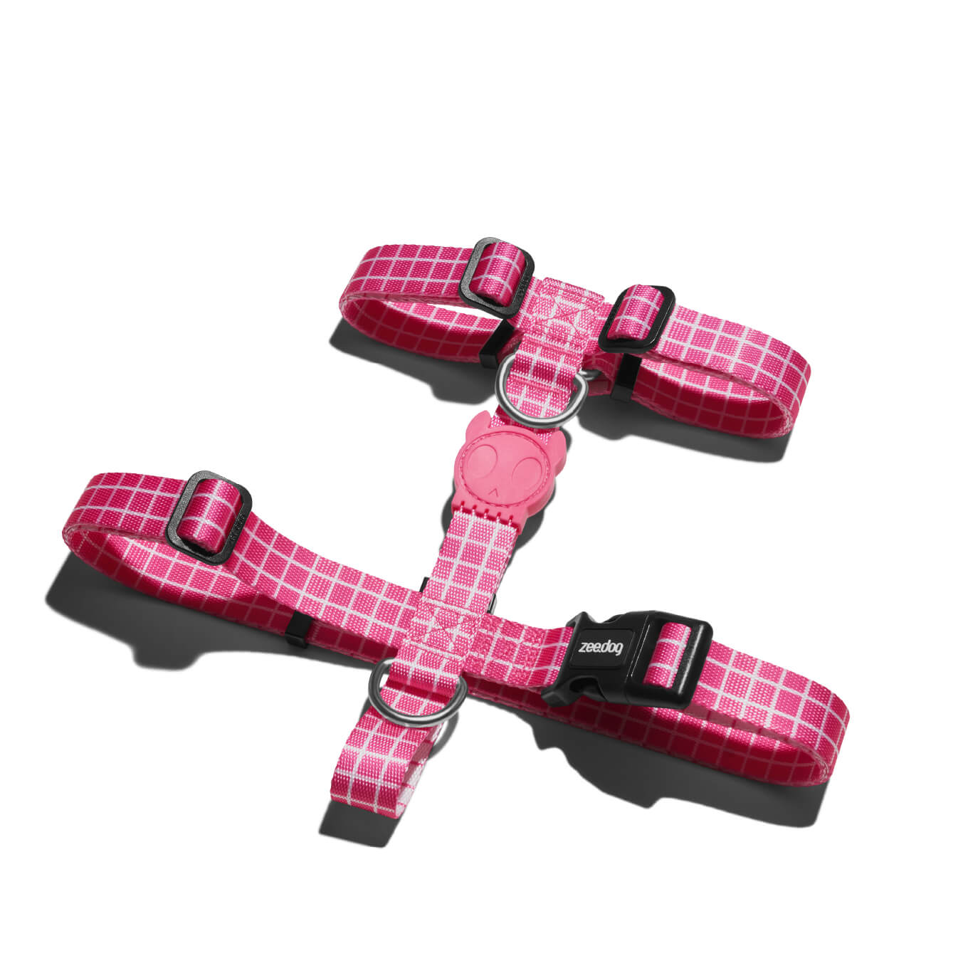 Zee.Dog Pink Wave Dog H-Harness - Vanillapup Online Pet Store