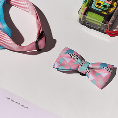 Zee.Dog Memphis Bow Tie and Collar