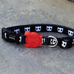 Zee.Dog Skull Dog Collar - 20, Collars, Dogs, Walking, Zee.Dog - Vanillapup - Online Pet Shop