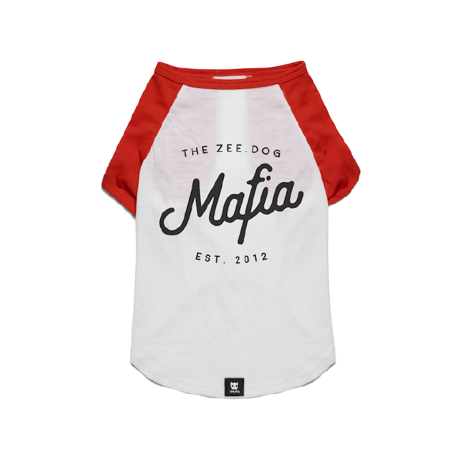 Zee.Dog Mafia Dog T-shirt - Apparel, Dogs, Zee.Dog - Shop Vanillapup - Online Pet Shop