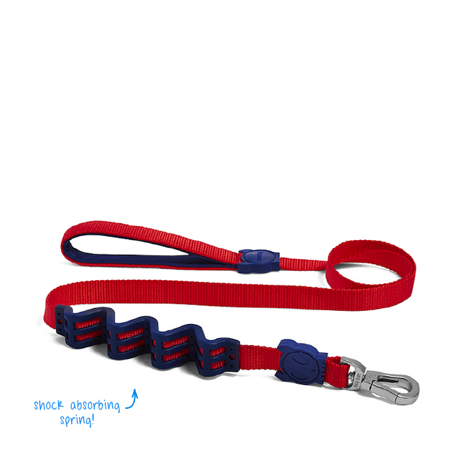 [EXCLUSIVE 25% OFF] Zee.Dog Tommy Ruff Shock Absorbent Dog Leash - Vanillapup Online Pet Shop