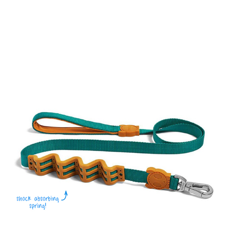Zee.Dog Vibe Ruff Shock Absorbent Dog Leash - Dogs, Leashes, Zee.Dog - Shop Vanillapup - Online Pet Shop