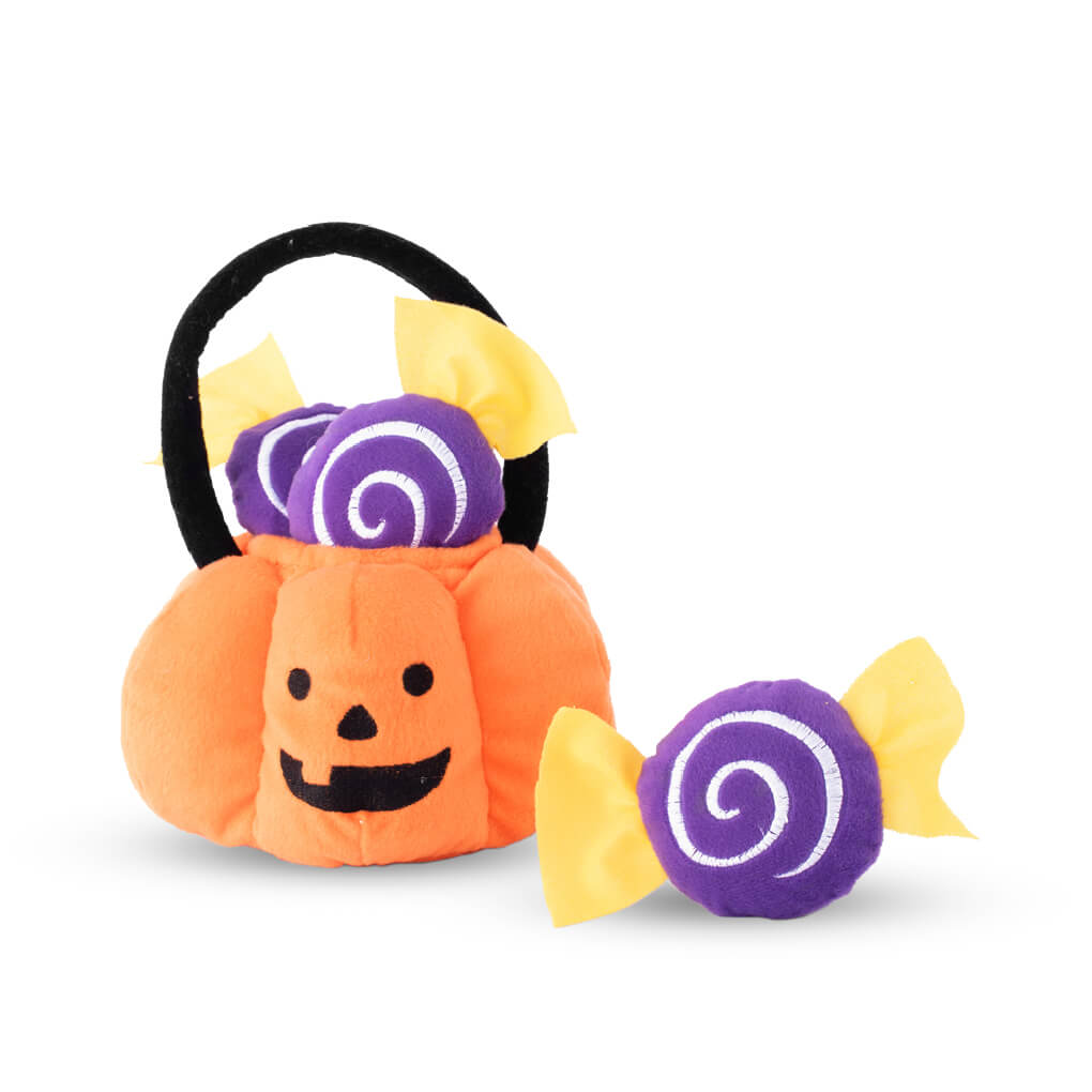 ZippyPaws Trick or Trick Basket Burrow Toy - Vanillapup Online Pet Shop