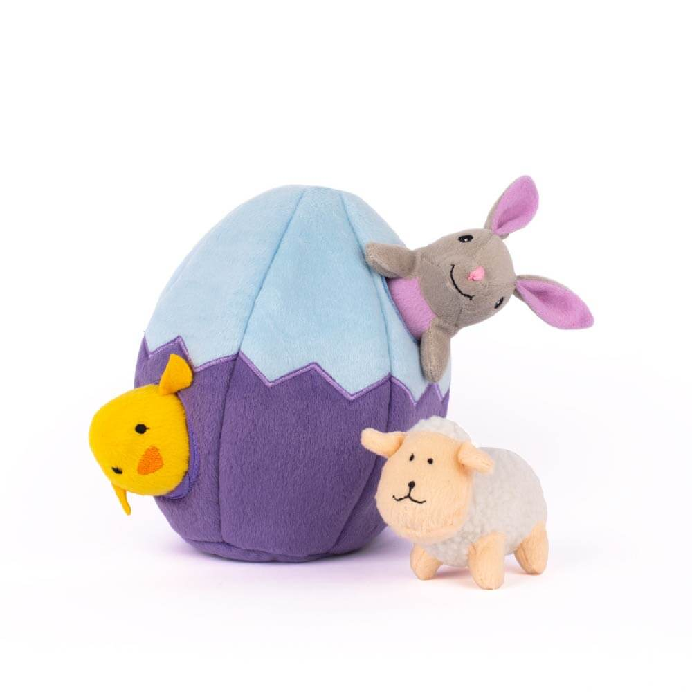 ZippyPaws Easter Egg & Friends Burrow - Vanillapup Online Pet Store