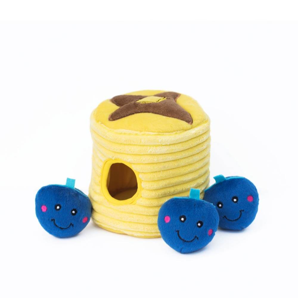 ZippyPaws Blueberry Pancakes Burrow Toy - Dogs, Interactive, preexpo2020, Toys, ZippyPaws - Shop Vanillapup - Online Pet Shop