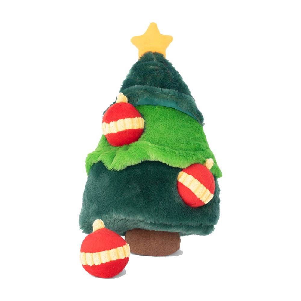 ZippyPaws Christmas Tree Burrow Toy