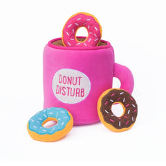 ZippyPaws Coffee and Donutz Burrow Toy - Vanillapup Online Pet Store