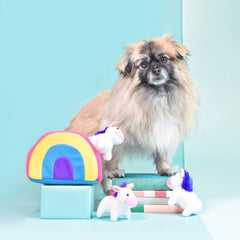 [Launch Special] ZippyPaws Unicorns in Rainbow Burrow Toy - Dogs, Interactive, New, Toys, ZippyPaws - Shop Vanillapup - Online Pet Shop