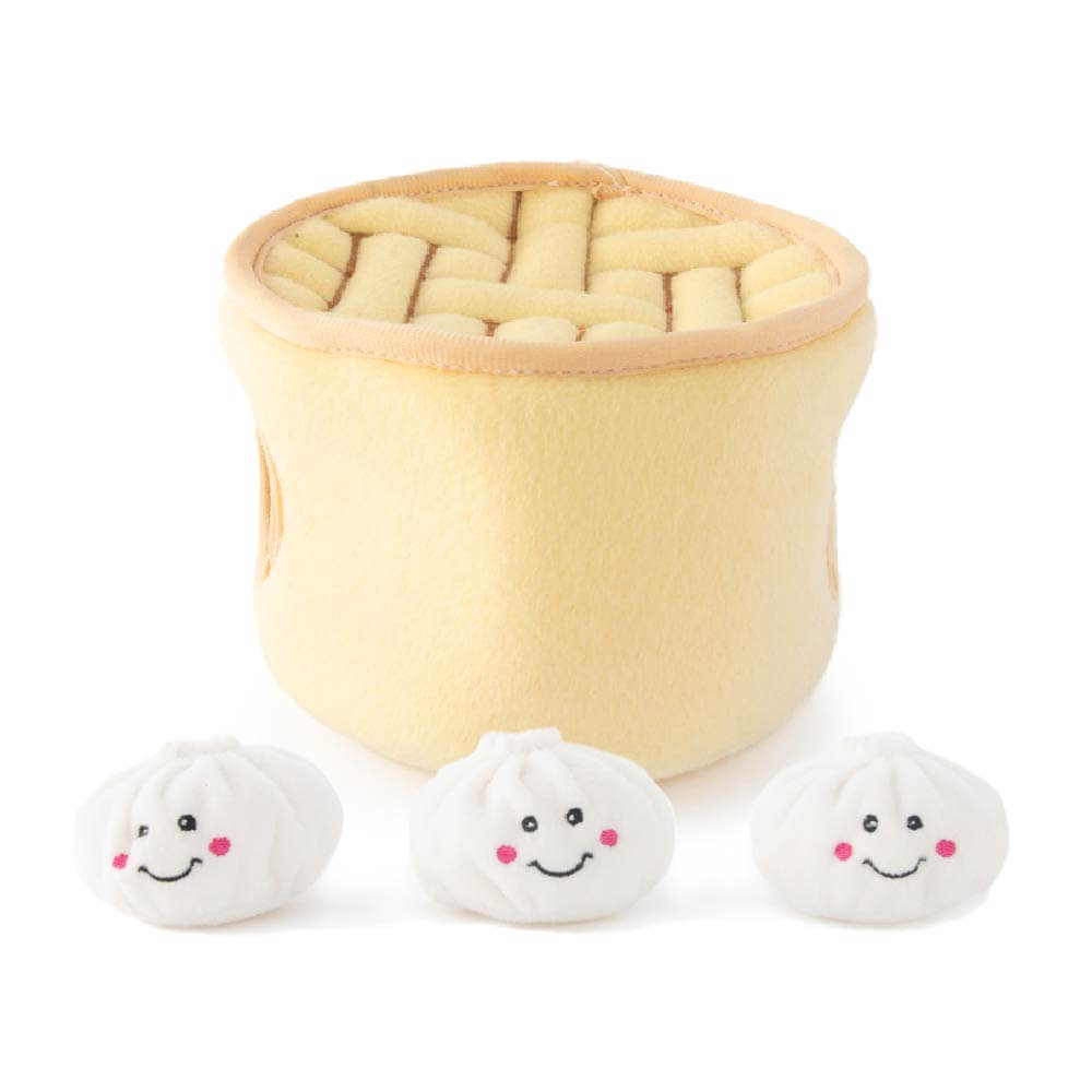 ZippyPaws Soup Dumplings Burrow Toy - Vanillapup Online Pet Shop