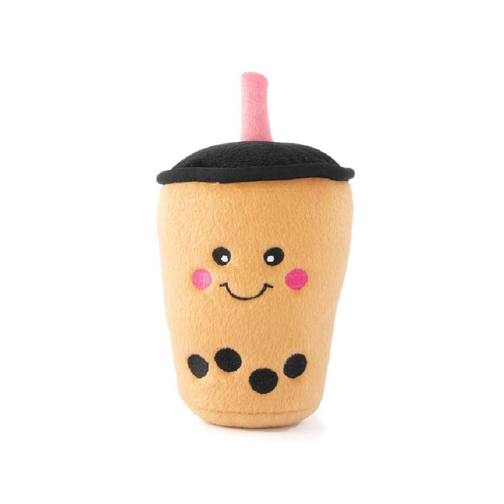 ZippyPaws NomNomz® Boba Milk Tea Toy