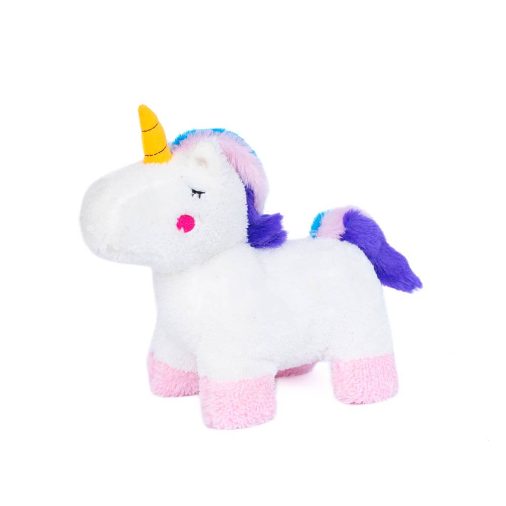 ZippyPaws Charlotte the Unicorn Toy - Shop Vanillapup Online Pet Shop