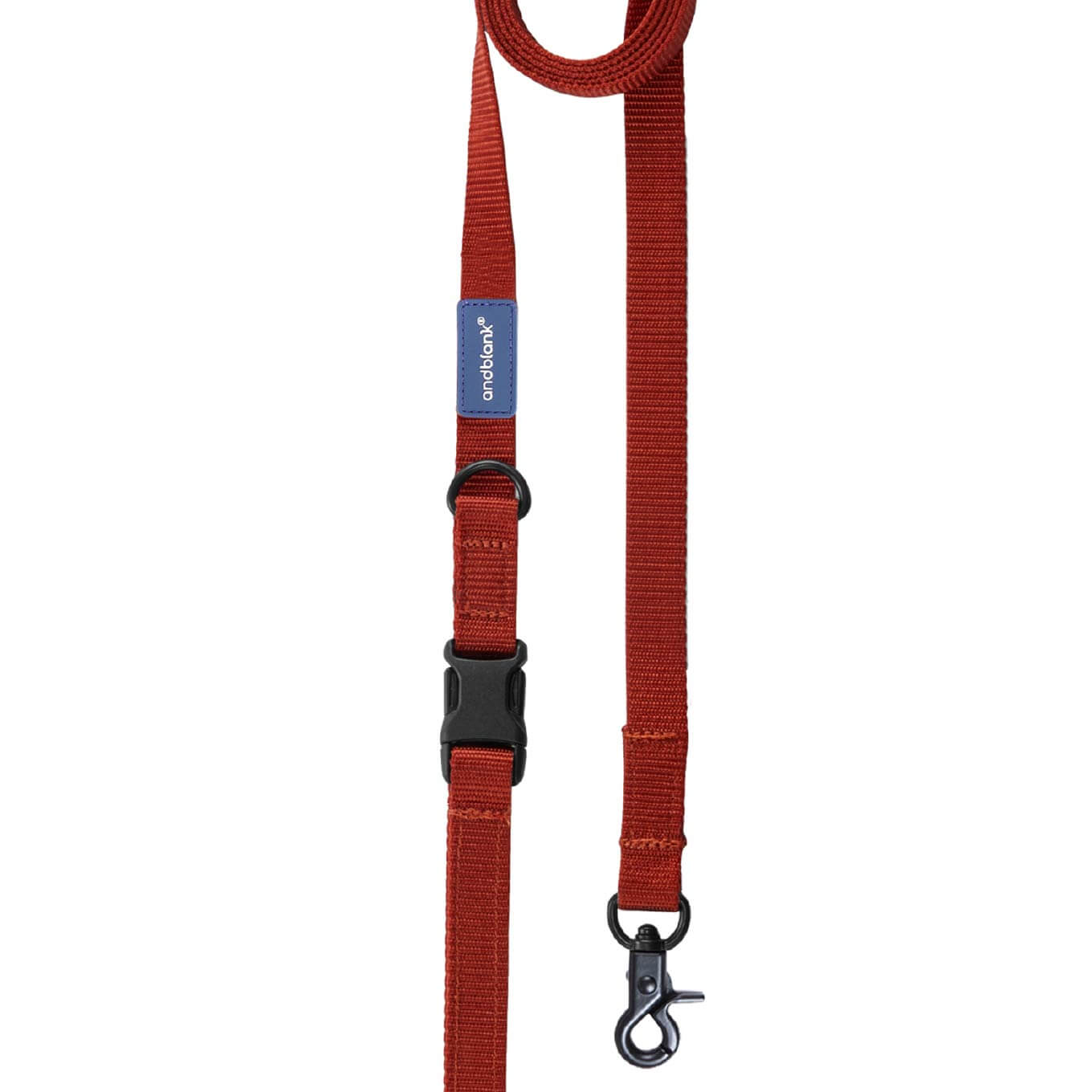 andblank® Leash | Brick - Vanillapup Online Pet Store