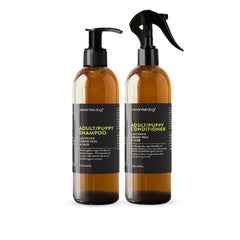 Essential Dog Adult/Puppy Shampoo (Lavender, Lemon Peel, and Clary Sage) - Vanillapup Online Pet Store