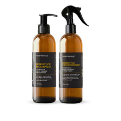 Essential Dog Sensitive Shampoo (Chamomile, Sweet Orange, and Rosewood) - Vanillapup Online Pet Store