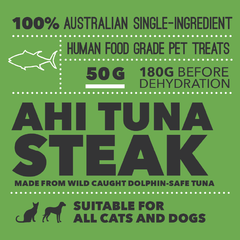 Loyalty Pet Treats Ahi Tuna Packaging