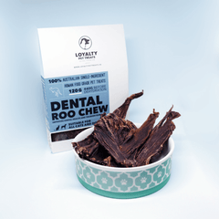 Loyalty Pet Treats Dental Roo Chew Treats