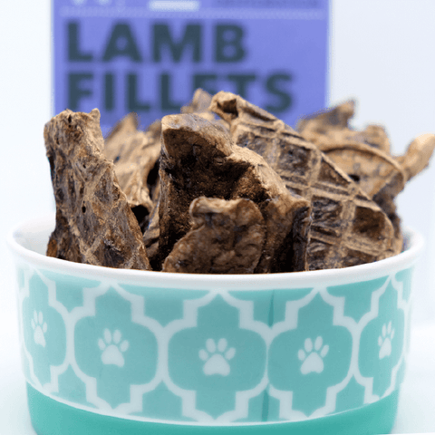 Loyalty Pet Treats Lamb Fillet Treats