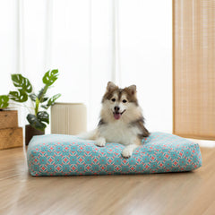 Ohpopdog Microbeads Pet Bed | Heritage Straits Mint 17 - Beds, Cats, Dogs, New, Ohpopdog - Vanillapup - Online Pet Shop