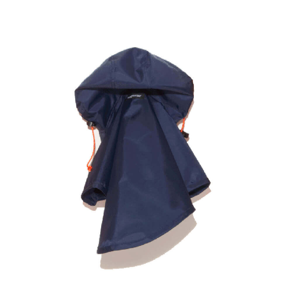 Wagwear Nylon Raincoat | Navy - Vanillapup Online Pet Store