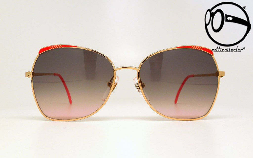 e62eac5ab4 prestige by demenego red browline 80s Vintage sunglasses no retro frames  glasses