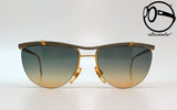 carlo bavaresco by mystere titanio 13 two tone 80s Vintage sunglasses no retro frames glasses
