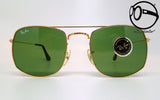ray ban b l fashion metal style 4 arista w0996 80s Vintage sunglasses no retro frames glasses