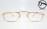 bartoli studio mod 158 gold plated 14 kt 60s Vintage eyeglasses no retro frames glasses