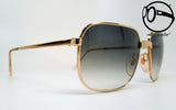 bartoli primus cb mod 129 gold plated 22kt blk 60s Unworn vintage unique shades, aviable in our shop