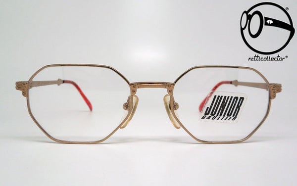 jean paul gaultier junior 57 4147 21 4a 2 90s Vintage eyeglasses no retro frames glasses