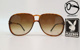 playboy 4661 11 brw 80s Vintage sunglasses no retro frames glasses