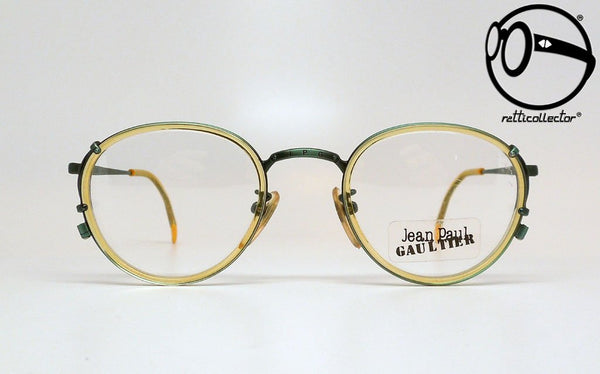 jean paul gaultier 55 3271 21 3h 4 90s Vintage eyeglasses no retro frames glasses