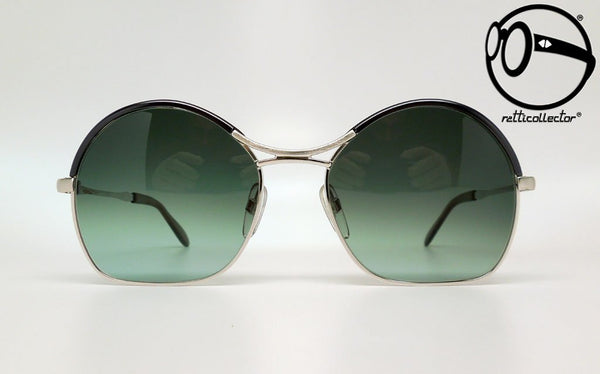 martin creation 217 black green 70s Vintage sunglasses no retro frames glasses